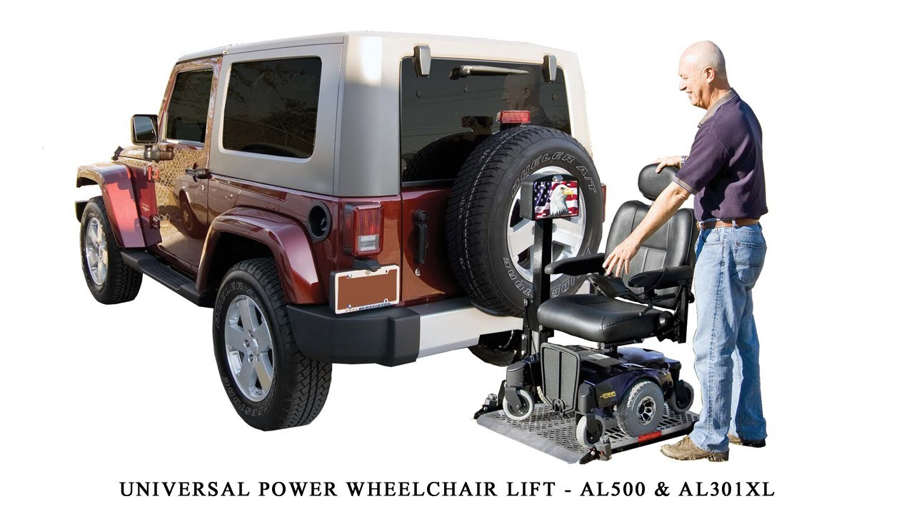 Harmar Al500 Universal Power Chair Lift Installation Guide