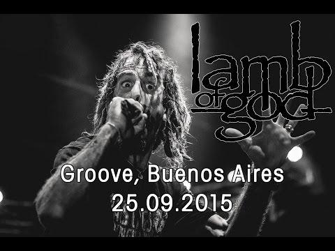 Lamb of God - Groove, Buenos Aires - 25/09/2015 (Cobertura)
