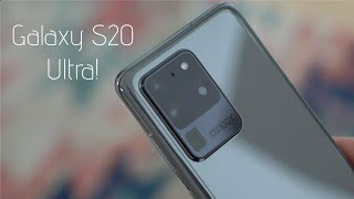 Samsung Galaxy S20 Ultra Hands On!