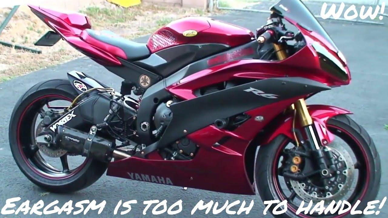 Yamaha R1, R6, Ducati, Kawasaki Ninja Exhausts Sound, etc.. + A Trip