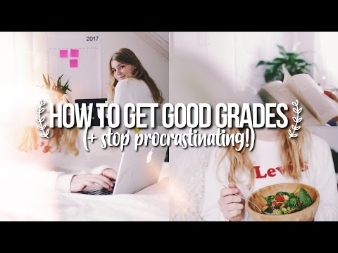 How To Get Good Grades Stop Procrastinating Study Tips For Finals