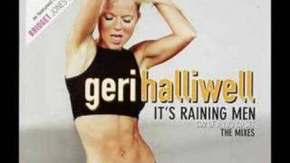 Geri halliwell its raining men karaoke