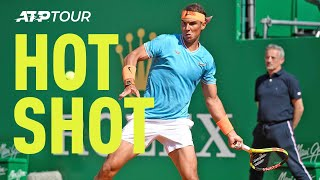 Hot Shot: Nadal Hammers Trademark Forehand Past Dimitrov in Monte-Carlo 2019