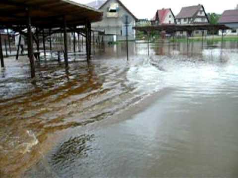 powódź w Jabłonce na Orawie