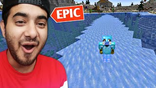 I Walked On Water In Minecraft (Epic)