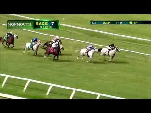 video thumbnail for MONMOUTH PARK 6-2-19 RACE 7