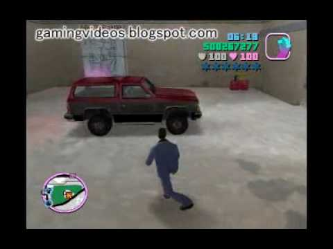 GTA Vice City - Sunshine Autos - Vehicle List 1