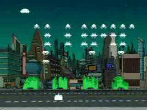 Rush Space Invaders