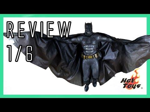 Hot Toys Batman Suicide Squad 1/6 video review MMS409