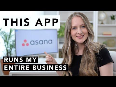 This APP runs my entire business (2020 Asana Tutorial)