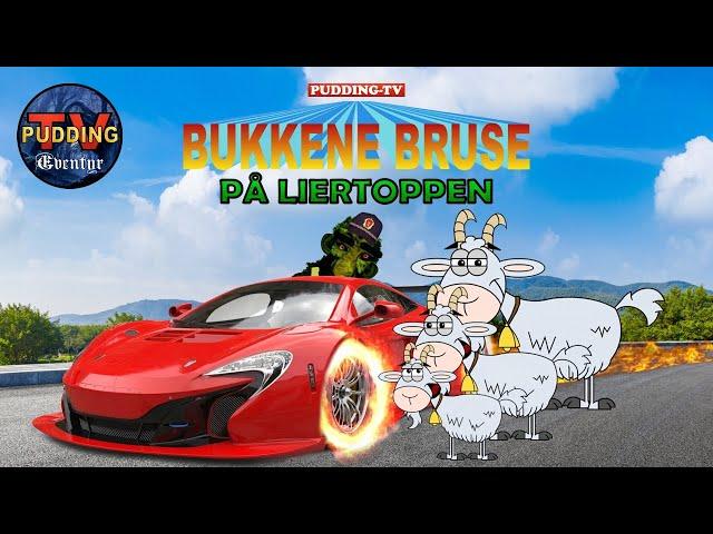 Bukkene Bruse på Liertoppen - Norske eventyr