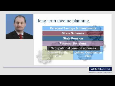 Long term income planning.