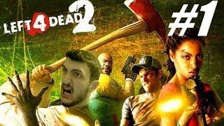 KOLSUZLAR GERİ DÖNDÜ BABAAAAĞĞ!! : Left 4 Dead 2 Multiplayer 2017 #1