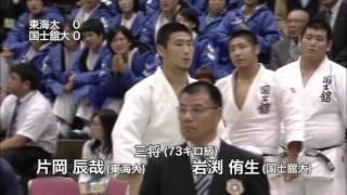 平成27年度 全日本学生柔道体重別団体優勝大会(男子)