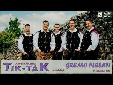 GREMO PLESAT - Ansambel TIK-TAK v Studiu Hendrix Radia Koper