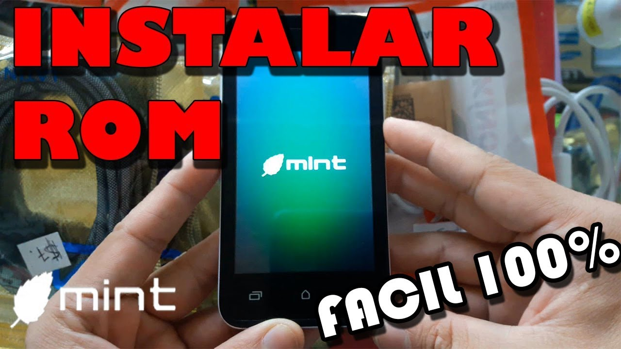Flashing Smartphone Mint 140 CHINO - Factory firmware (SOLUTION 100%)