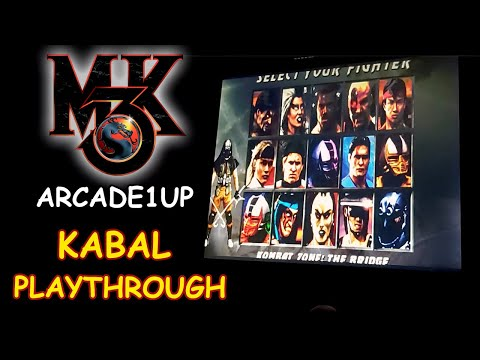 MORTAL KOMBAT 3 ARCADE1UP - KABAL PLAYTHROUGH + ENDING // Lets play from JDCgaming