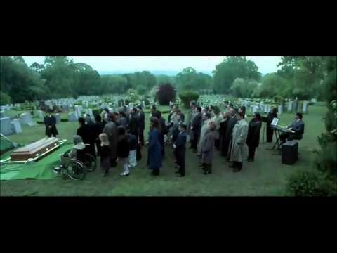 Garden state funeral scene