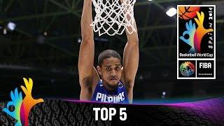 Top 5 Plays - 1 September - 2014 FIBA Basketball World Cup