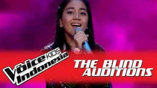 "Keshya ""Serba Salah"" I The Blind Auditions I The Voice Kids Indonesia 2016"