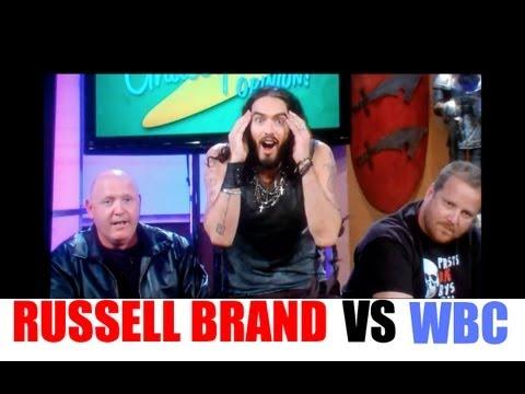 Russell Brand VS Westboro Baptist Church