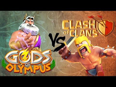 GODS OF OLYMPUS VS CLASH OF CLANS [INTRO TO GoO]