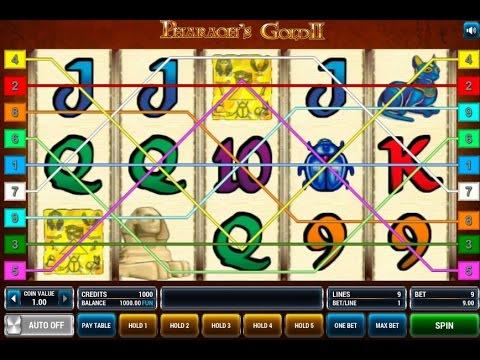 Pharaohs Gold 2 (Фараон 2) - видео обзор игрового автомата