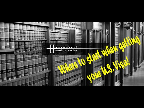 In this short video I try to explain some of the basics of the United States immigration process and where to begin in the immigration process in order to get...