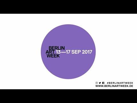 BERLIN ART WEEK 2017, 13—17 SEP, TEASER TRAILER