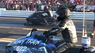 SLED DRAG RACE Arctic Cat -vs- Yamaha