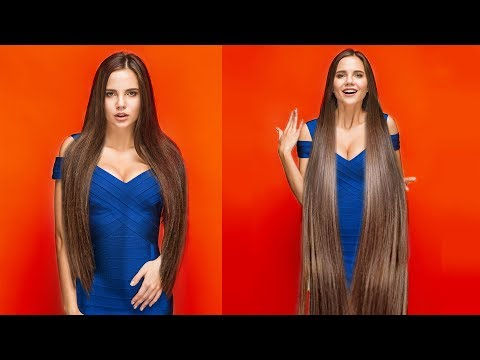 16 HAIR HACKS AND HAIRSTYLES TO MAKE YOUR HAIR LOOK LONGER AND STRONGER