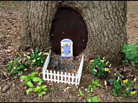 youtube how to make a fairy house