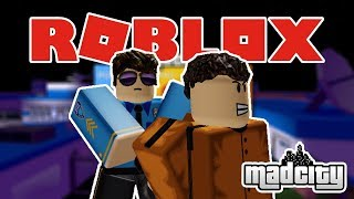 Try to be a BARBAR policeman!!! | Mad City | ROBLOX Indonesia #1