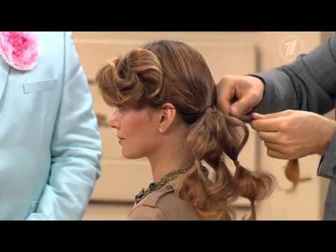 Прическа от татьянина на средние волосы видео уроки