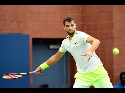US Open 2017: 15-Love with Grigor Dimitrov