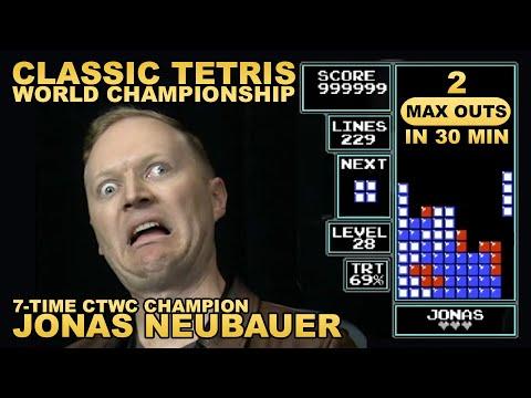 Jonas OBLITERATES Tetris Qualifiers - 2 Max in 30 Min!