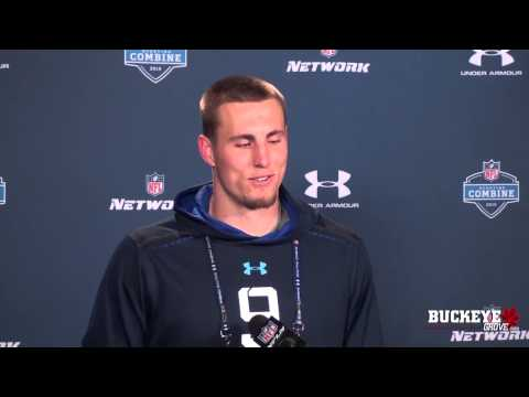 Heuerman talks at NFL Combine