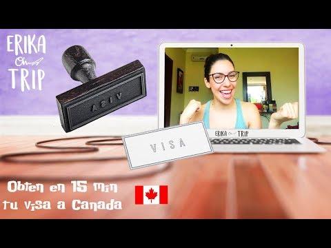 Tramita Tu Visa De Turista A Canadá En 15 Min  (México-España-Chile)