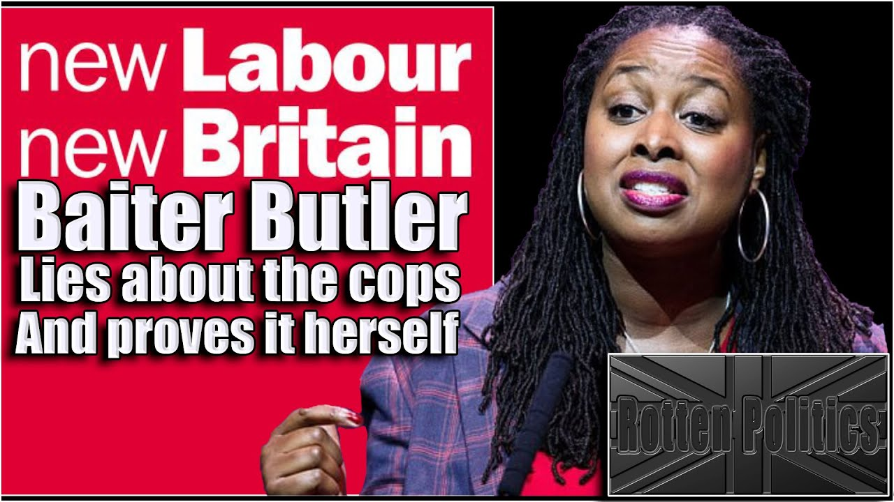 Dawn butler's police profiling accusation is rubbish and she inadvertantly admits it!