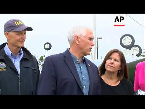 Pence: Tyndall AFB to be rebuilt after hurricane