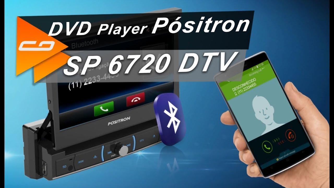c77fa8354c DVD Player Automotivo Pósitron SP 6720 DTV em Detalhes  Conheça as Funções  - Connect Parts