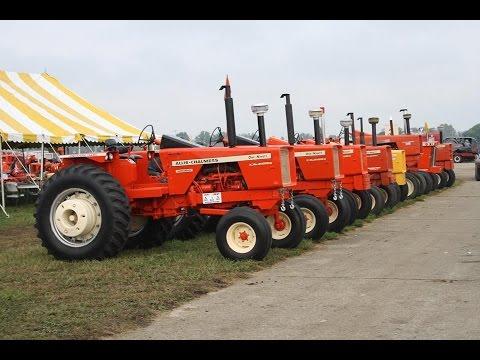 Allis-Chalmers Tractor Exhibit at the 2015 Half Century of Progress