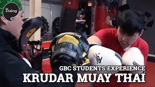 George Brown College students experience Krudar Muay Thai