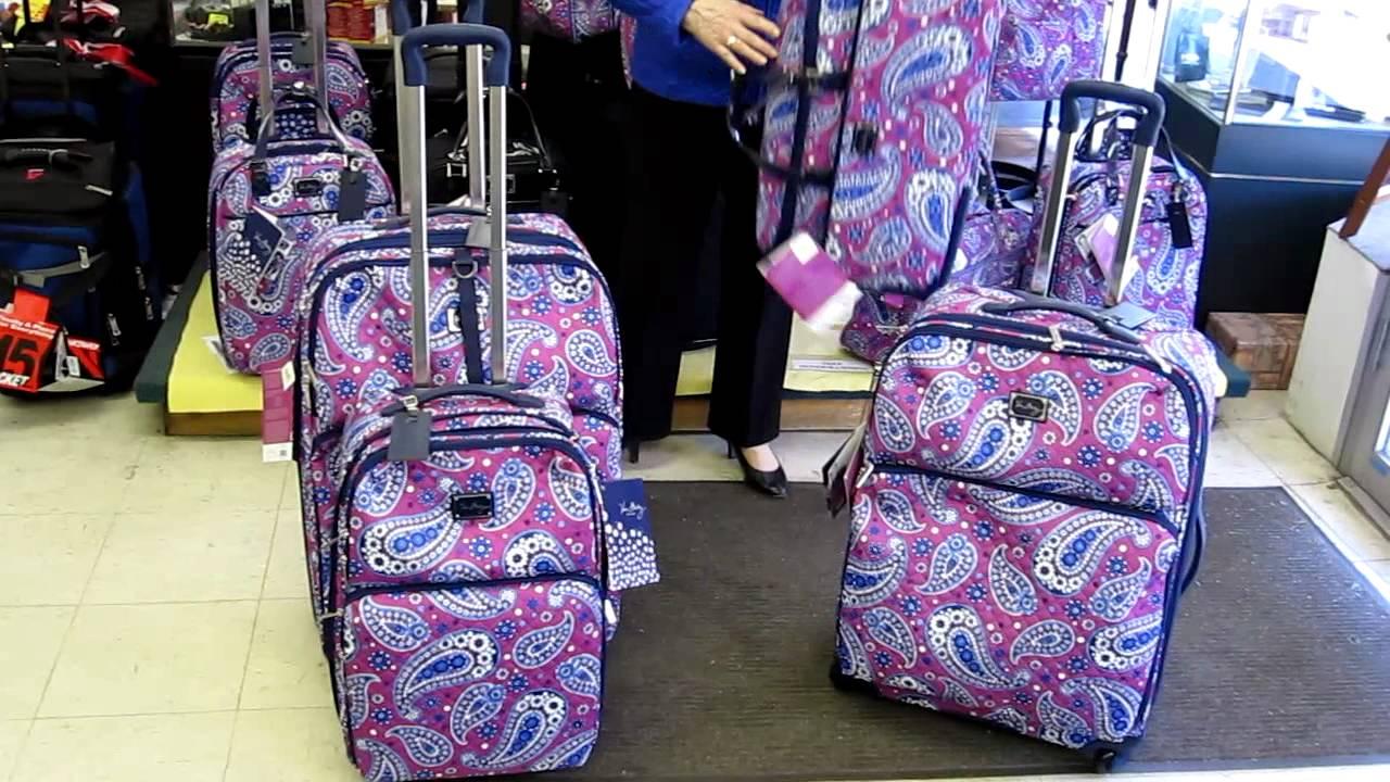 71c493529eb3 Vera Bradley Luggage - YouTube
