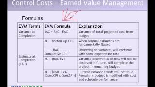 Pmp Training Video - T5 - P05 - Cost Management & Quality Management