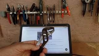 Клещи переставные необходимый инструмент мастеру
