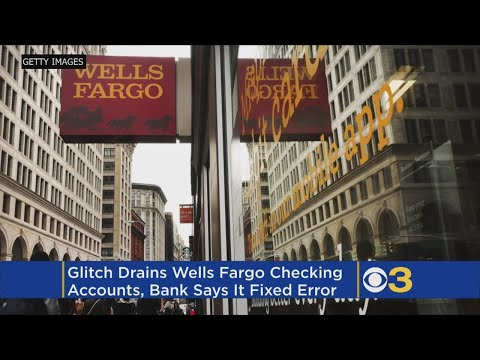 Wells Fargo Glitch Leaves Customers With Empty Bank Accounts