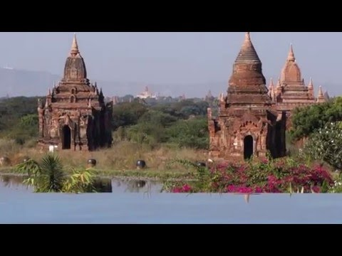 Tour of the Aureum Palace Resort in Bagan, Myanmar (Day Time)