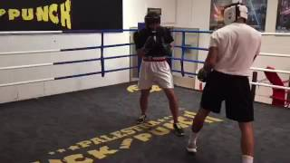 Palestra Kick And punch Valente Boxe