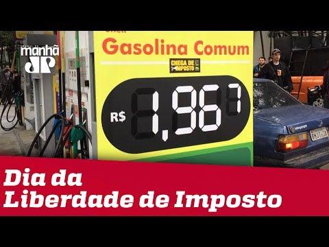 Dia Da Liberdade De Imposto: Posto De Combustível Em SP Vende Gasolina A R$ 1,96
